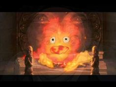 Find images and videos about studio ghibli, howl's moving castle and calcifer on We Heart It - the app to get lost in what you love. Joe Hisaishi, Film D'animation, Film Serie, Hayao Miyazaki, Totoro, Fogo Gif, Film Animation Japonais, Animation Film, Howl's Moving Castle