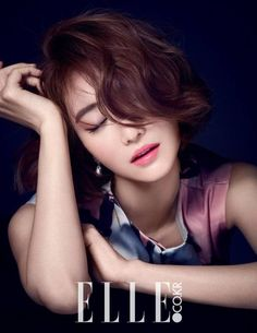 Go Jun Hee is a goddess even in B-cuts for 'ELLE' magazine | allkpop.com