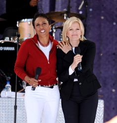 "Diane Sawyer & Robin Roberts   ""GMA"" ABC  Photo Credit: Getty/Wireimage"