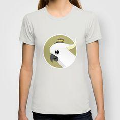 Cockatoo T-shirt by Federico Detor Simoni - $18.00
