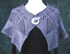 Mountain Ramble from the Meander With Me pattern by Dorothy Siemens, Fiddlesticks Knitting