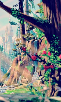 Disney Beauty & the Beast iPhone Wallpaper Disney Pixar, Walt Disney, Animation Disney, Disney And Dreamworks, Disney Films, Disney Magic, Disney Art, Disney Villains, Disney Dream