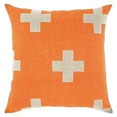 Crosses Cushion by Aura by Tracie Ellis
