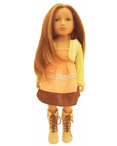 Malaree with Highlights - My Salon Doll - The First and Original Doll With Real Hair