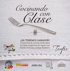 GASTRONOMÍA EN ZARAGOZA: Aragón con Gusto-Cocinando con Clase (FOTOS Y VÍDE...