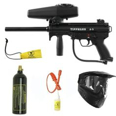 Tippmann A-5 w/ Response Trigger Paintball Marker Gun Set + SQG + Oil + BC. Available at Ultimate Paintball!!  http://www.ultimatepaintball.com/p-7546-tippmann-a-5-w-response-trigger-paintball-marker-gun-set-sqg-oil-bc.aspx
