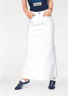 c481687e974 Джинсовая юбка цвет  белый арт  754255263 купить в Интернет магазине Quelle  за 3199.00 руб - с доставкой по Москве и России