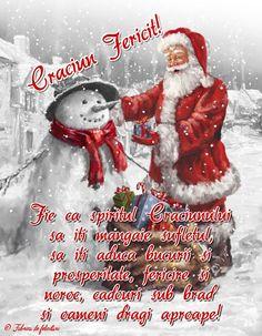 Fie ca spiritul Crăciunului să iți mângăie sufletul, să iți aducă bucurii și prosperitate, fericire și noroc, cadouri sub brad și oameni dragi aproape! Christmas Wishes, Christmas Time, Holidays And Events, Christmas Tree Decorations, Holiday Cards, Good Morning, Diy And Crafts, Merry Christmas, Winter