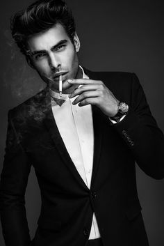 Jon Kortajarena by Anthony Meyer #hot #sexy #model #hair #scruff #tux