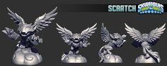 Skylanders SWAP Force Toy Sculpts
