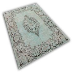 mint groen vloerkleed | Rozenkelim.nl - Groot assortiment kelim tapijten