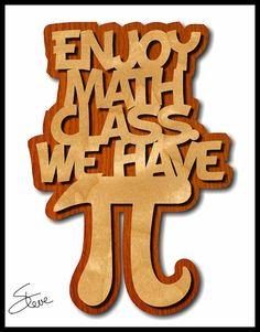 Math scroll saw pattern (with jokes)