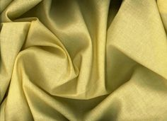 Yellow Cotton Voile Fabric