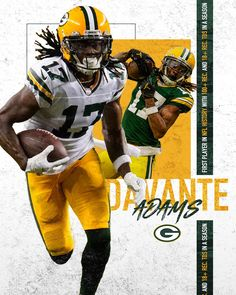 Davante Adams is the first player NFL history with 100+ receptions (115) & 18 receiving TDs in a season. He did it in 14 games. 🤯 #GoPackGo Nfl History, Go Pack Go, Green Bay Packers, The 100, Receptions, Seasons, Instagram, Games, Seasons Of The Year