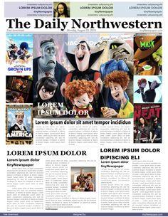 49 best newspaper design images on pinterest in 2018 headline news