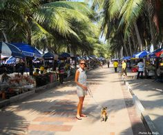 Photos by Maiju: Bangsaen 2012 me and my dog Tiku
