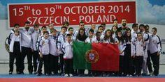 Atletas de Alcabideche campeões do mundo de Karaté em iniciados e juniores. No total Portugal conquistou 18 medalhas no campeonato Mundial de Crianças, Cadetes e Juniores.