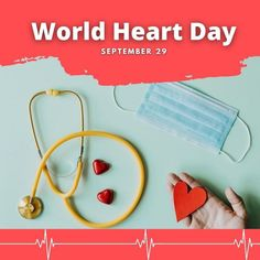 On average, more than 17 million people die from heart-related illnesses every year. World Heart Day aims to draw attention to heart illness and the range of associated health issues. The day is commemorated to promote different preventative steps and changes in lifestyle to avoid any cardiovascular diseases, like heart attack, stroke, heart failure and any other condition related to it. Promote better heart habits for your home and workplace and help prevent cardiovascular disease. World Heart Day, Heart Failure, Good Heart, Cardiovascular Disease, Heart Attack, Helping People, Workplace, Nursing, Range