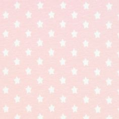 Small Stars Cotton Jersey - pink - Jersey Knit Fabricsfavorable buying at our shop