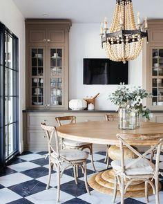 dining room Küchen Design, Floor Design, House Design, Interior Design, Interior Plants, Interior Stylist, Interior Modern, Dining Room Walls, Dining Room Design