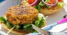 Incrível! Deixe seus convidados babando com esta receita de hambúrguer de grão de bico - # #almoço #dieta #Receitas #vegetariano