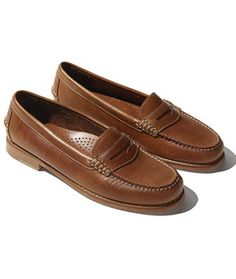 Signature Handsewn Leather Loafer - LL Bean Intl