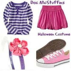 doc mcstuffins party outfit! Gabi is so going to wear something like this for her Bday this yr!!!