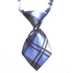 HelloDefiance, Light Blue Check-Stripes Dog Tie, best, HelloDefiancecheap