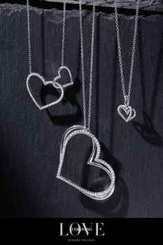 Designed to show how beautiful it is when two people are joined together by love, The Vera Wang LOVE Kindred Heart Collection is the perfect gift for the one you love.🖤  #LoveZales Cute Jewelry, Jewelry Box, Jewelry Accessories, Unique Jewelry, Girls With Red Hair, Cute Nikes, Sapphire Bracelet, Diamond Are A Girls Best Friend, Swagg