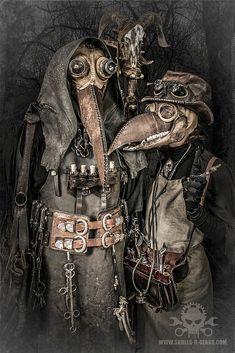 Steampunk Artwork & Photography by Alexander Schlesier  (c) www.skulls-n-gears.com  #skullsngears #Steampunk #mask #transformer #plague #plaguedoctor #postapocalyptic #costume #doctor #medieval #pestdoktor #pestmaske