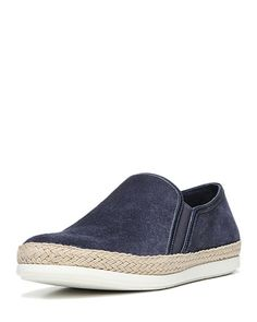 VINCE Acker Suede Slip-On Sneaker. #vince #shoes #
