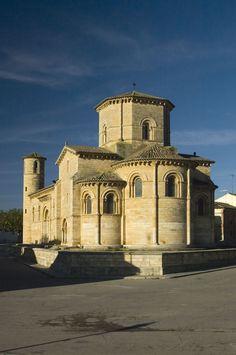 San Martín de Frómista, Palencia. Camino a Santiago de Compostela.