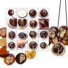 Step-by-Step Tutorial Tree of Life Jewelry Tree, Diy Jewelry, Beaded Jewelry, Bijoux Wire Wrap, Wire Wrapped Jewelry, Wire Jewelry Making, Jewelry Making Tutorials, Online Tutorials, Spoon Art