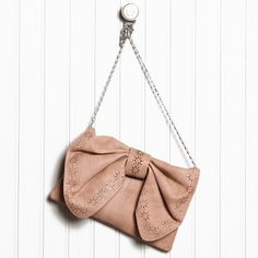 Ruche out with my beau purse/clutch