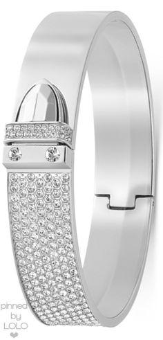 0e4c1e708 Swarovski Crystal Bangle Bracelet | LOLO❤ Love Bracelets, Silver Bracelets,  Fashion Bracelets