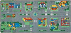 Play Carpet - City Streets by MatsMatsMats.com. $48.99. There's always lots to see and do in the city and plenty of opportunities for young imaginations to enjoy creative play on this play rug for cars.