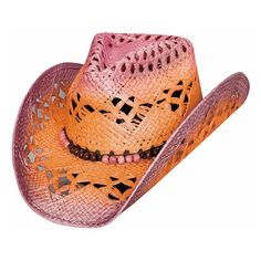 5498e9a6a69 Light My Fire - Womens Bangora Straw Cowboy Hat