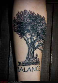 Family Tree Side Tattoo