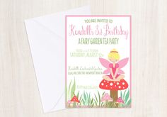 Hey, I found this really awesome Etsy listing at https://www.etsy.com/listing/102025158/custom-fairy-birthday-invite-pixie-party