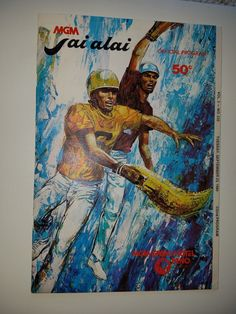 Official jai alai program for Reno Nevada dated 9/23/80 | eBay