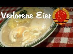 Verlorene Eier - Essen in der DDR: Koch- und Backrezepte für ostdeutsche Gerichte | Erichs kulinarisches Erbe