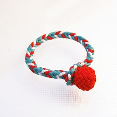 Bracelet / 8 Strand square braid, Type 1 accessory cord
