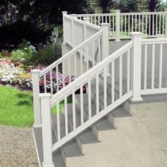 x 36 in. White Pro Rail Stair Kit 73013129 at The Home Depot - Mobile