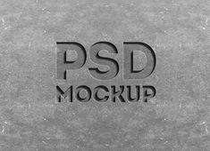 Free Stone Engraved Text Effect Mockup (24.9 MB) | psdsuckers.com