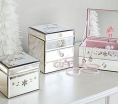 8 best mirrored jewelry box images on pinterest jewellery box