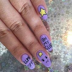 I Scream Nails - Melbourne Nail Art Best Acrylic Nails, Summer Acrylic Nails, Adventure Time Nails, Matted Nails, Tie Dye Nails, Yellow Nail Art, Holiday Nail Designs, Claw Nails, Dream Nails