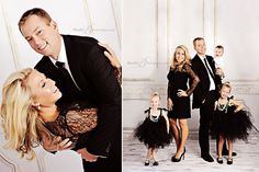Best Family Pictures | Breakfast at Tiffany's Theme | Studio B Portraits