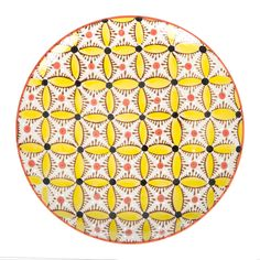 Bring stunning prints to the dinner table with this set of Hippy plates from Pols Potten. Beautifully hand painted, these ceramic plates feature intricate geometric designs in four different colours.