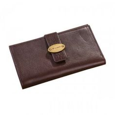 Hottest Mulberry Men Natural Leathers Card Wallet Chocolate Bags : Mulberry Outlet £78.26