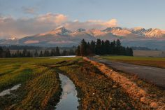 Photograph Roads in High Tatras by Nikolay Sapronov on High Tatras, Photograph, Country Roads, Tattoo, Explore, Mountains, Nature, Travel, Photography